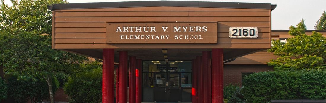 Myers Elementary front exterior