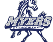 Myers Elementary mustangs logo