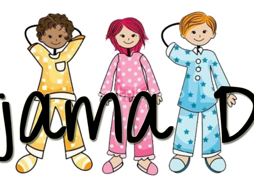 Join us for Pajama Day – December 20, 2019